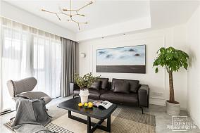 浪漫158平现代四居客厅设计案例