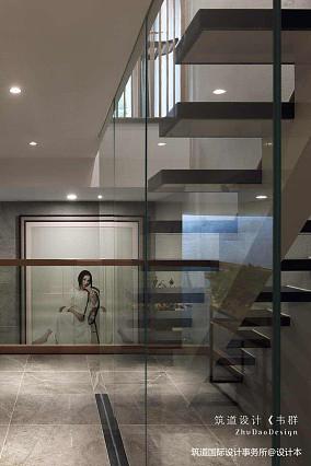 轻奢402平中式别墅装修图151-200m²别墅豪宅中式现代家装装修案例效果图