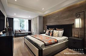 优雅917平中式别墅卧室设计图151-200m²别墅豪宅中式现代家装装修案例效果图