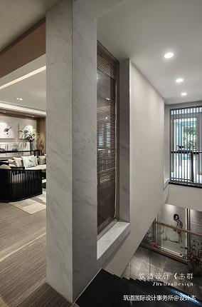 精致477平中式别墅装修美图151-200m²别墅豪宅中式现代家装装修案例效果图