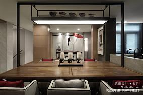 精美362平中式别墅餐厅装修图151-200m²别墅豪宅中式现代家装装修案例效果图