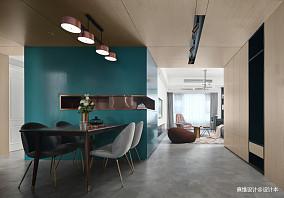 悠雅86平现代三居餐厅设计案例