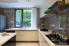 温馨44平现代复式厨房设计美图