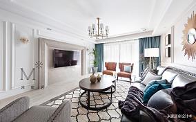 明亮56平现代二居设计案例二居现代简约家装装修案例效果图
