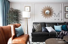 典雅71平现代二居装饰图片二居现代简约家装装修案例效果图
