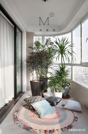 典雅62平现代二居设计案例二居现代简约家装装修案例效果图