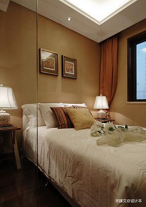 温馨97平东南亚三居卧室装修图片