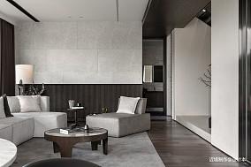 时光・淬炼现代风客厅沙发图别墅豪宅现代简约家装装修案例效果图