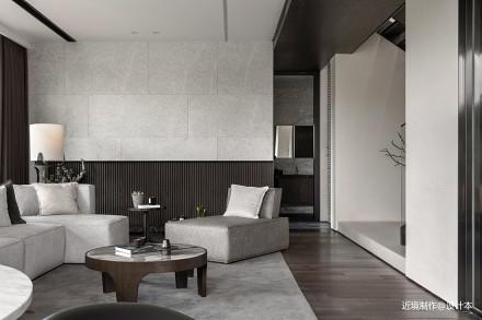 时光・淬炼现代风客厅沙发图