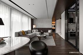时光・淬炼现代风客厅实景图别墅豪宅现代简约家装装修案例效果图