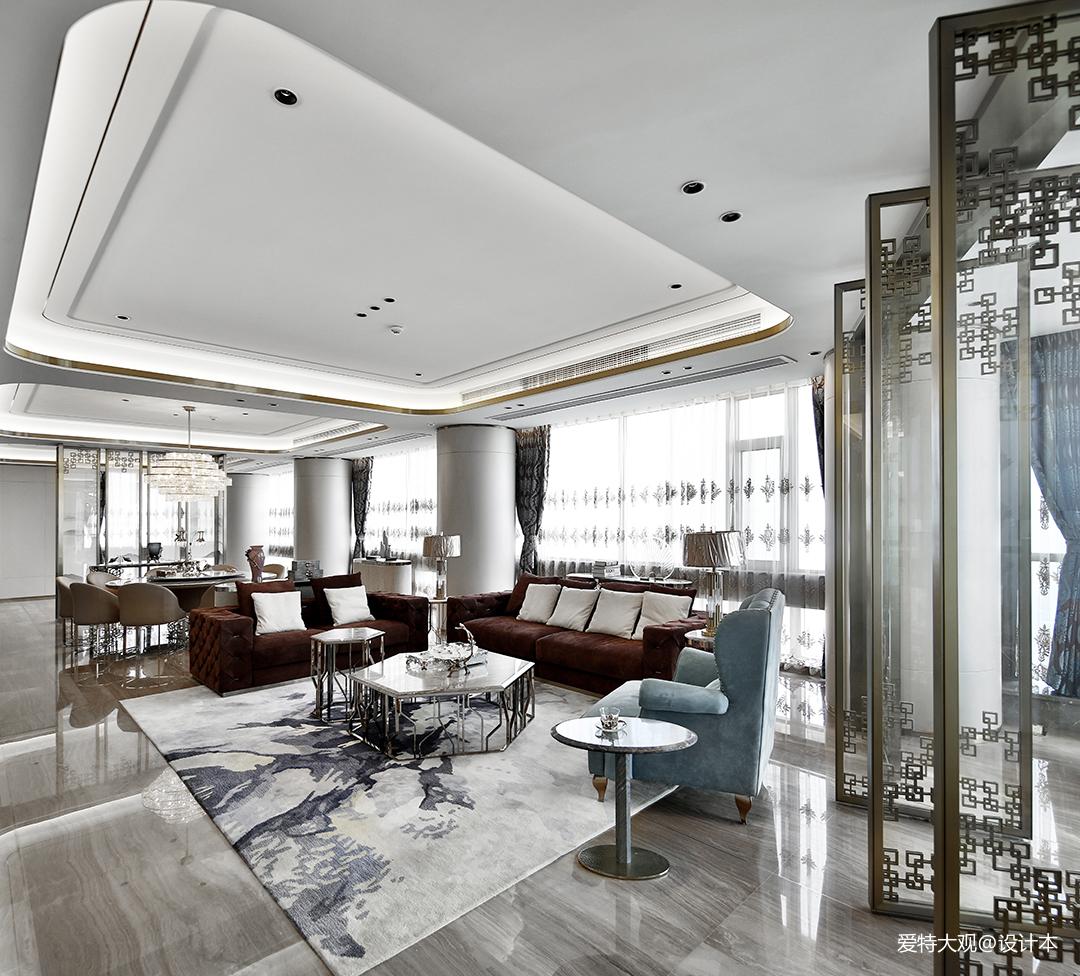 580㎡超大江景房客厅设计图片四居及以上潮流混搭家装装修案例效果图