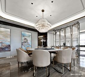 580㎡超大江景房餐厅实景图片四居及以上潮流混搭家装装修案例效果图