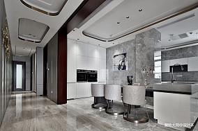 580㎡超大江景房厨房设计四居及以上潮流混搭家装装修案例效果图
