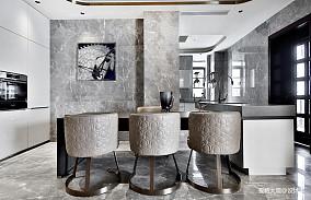 580㎡超大江景房餐厅设计四居及以上潮流混搭家装装修案例效果图