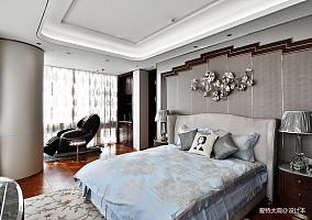 580㎡超大江景房卧室设计图四居及以上潮流混搭家装装修案例效果图