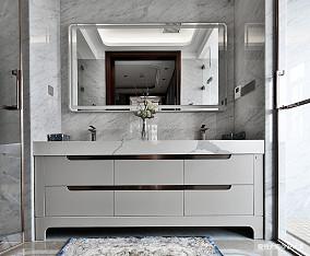 580㎡超大江景房洗手台设计四居及以上潮流混搭家装装修案例效果图