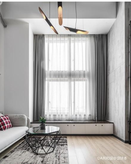 明亮23平北欧小户型客厅装饰图片