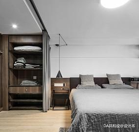 简洁37平北欧小户型卧室装修案例一居北欧极简家装装修案例效果图