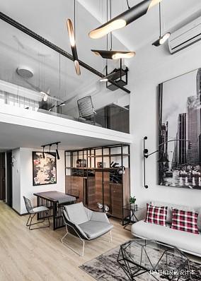 平北欧小户型客厅图片欣赏一居北欧极简家装装修案例效果图