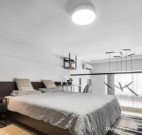 温馨25平北欧小户型卧室装修美图一居北欧极简家装装修案例效果图