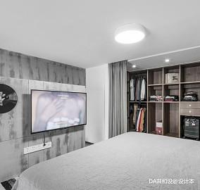 优美23平北欧小户型卧室效果图一居北欧极简家装装修案例效果图