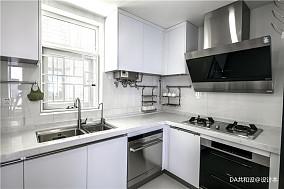 优雅73平北欧三居厨房装修装饰图