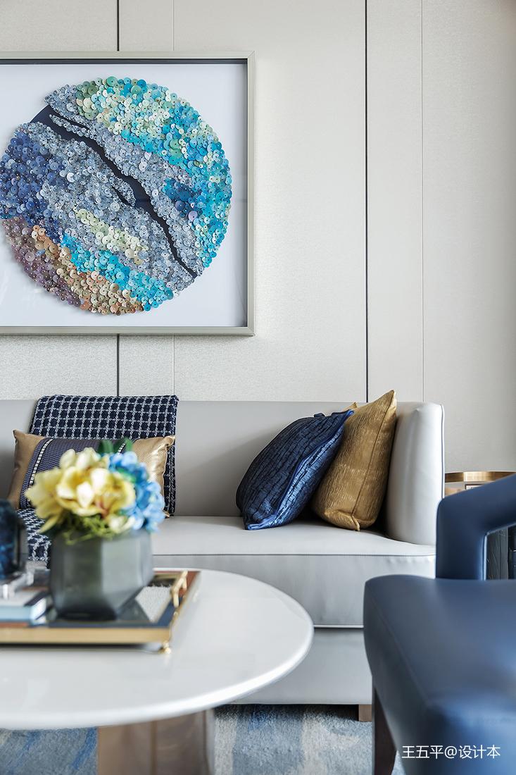 悠雅260平现代样板间客厅装潢图客厅现代简约客厅设计图片赏析