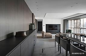 悠雅72平现代复式玄关效果图复式现代简约家装装修案例效果图