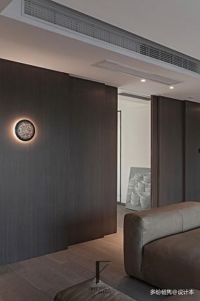 温馨45平现代复式客厅装修图复式现代简约家装装修案例效果图