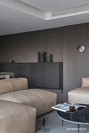 优雅72平现代复式客厅图片欣赏复式现代简约家装装修案例效果图