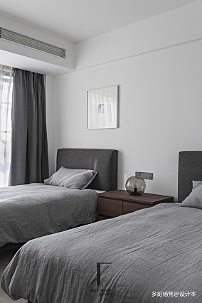 典雅64平现代复式卧室美图复式现代简约家装装修案例效果图