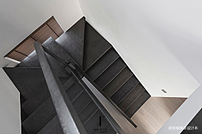 悠雅44平现代复式实景图复式现代简约家装装修案例效果图