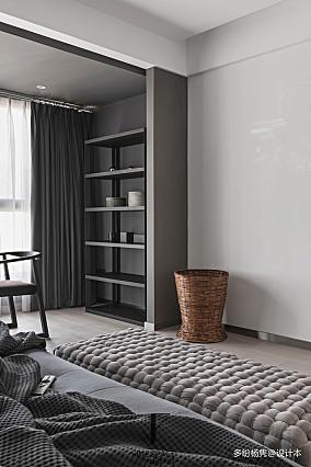 浪漫66平现代复式卧室装饰图片复式现代简约家装装修案例效果图