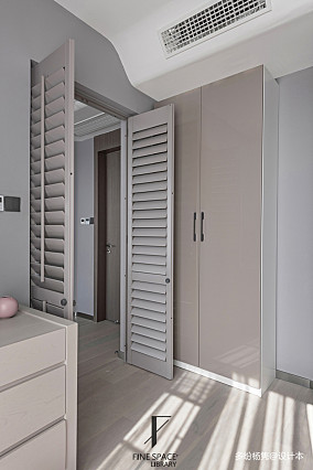精致82平现代复式儿童房实景图片复式现代简约家装装修案例效果图