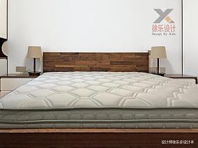悠雅80平中式三居卧室图片大全101-120m²三居中式现代家装装修案例效果图