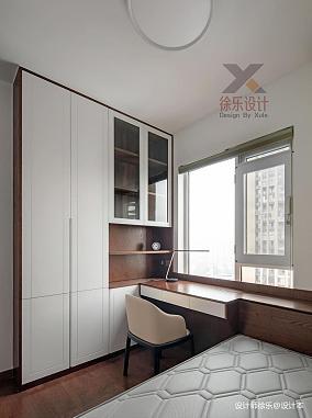 优美99平中式三居书房装修案例