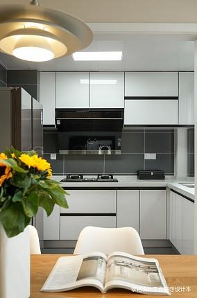 质朴83平北欧三居厨房装修美图三居北欧极简家装装修案例效果图