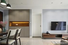 典雅105平北欧三居客厅设计效果图