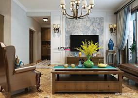 华丽120平简约三居客厅图片欣赏
