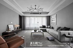 明亮180平现代三居装修装饰图