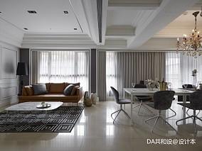 质朴938平美式别墅休闲区装修设计图