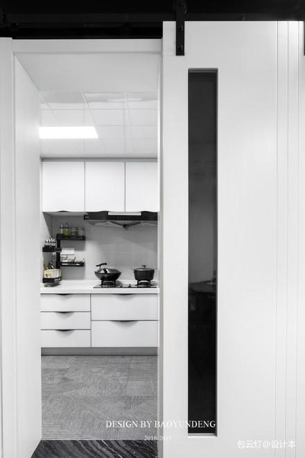 优雅80平北欧二居厨房效果图片大全