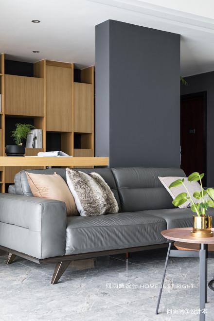 华丽156平现代四居客厅布置图