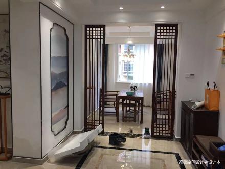 典雅115平中式四居客厅装修图