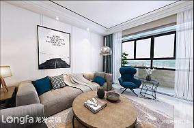 轻奢132平现代三居客厅装修美图