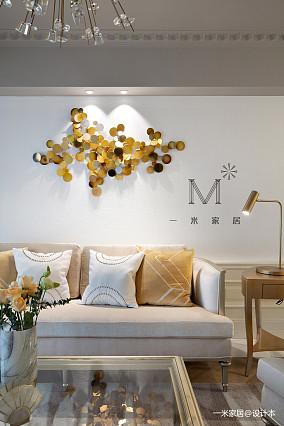 [一米家居]140m²美式三居美式经典家装装修案例效果图