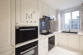 优雅119平美式三居装潢图三居美式经典家装装修案例效果图