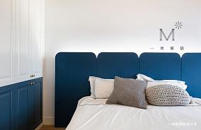 简洁77平美式三居装修效果图三居美式经典家装装修案例效果图