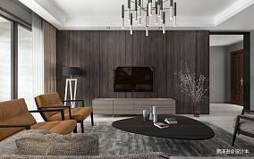 精美260平现代四居客厅装修设计图