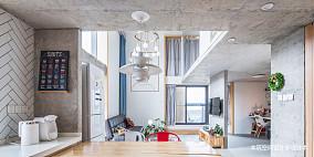 浪漫69平LOFT复式客厅设计效果图